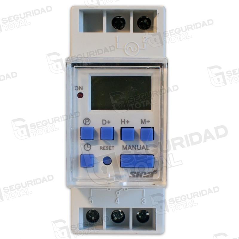 Reloj timer digital programador electr nico sica for Programador electrico digital