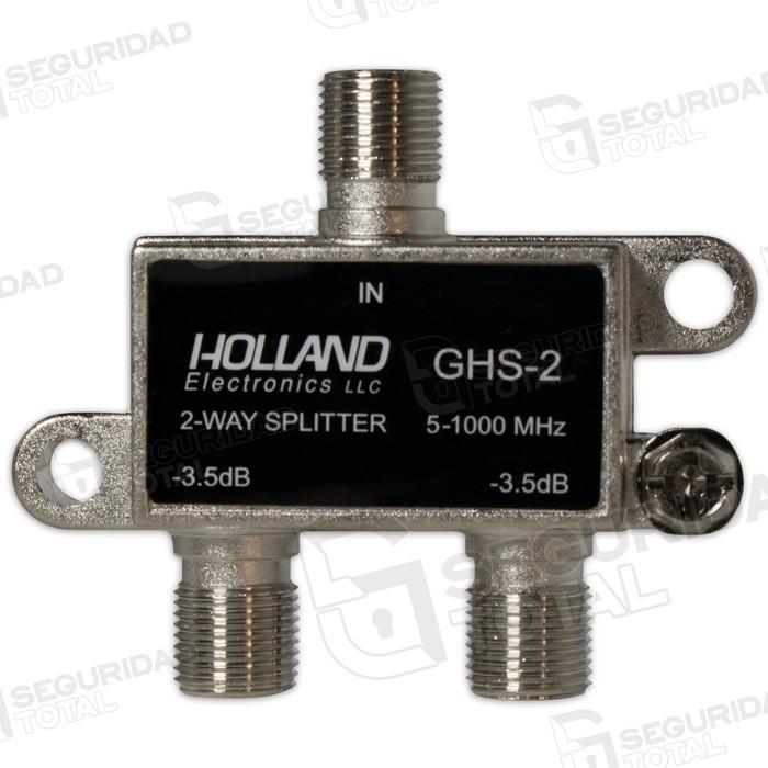 Splitter baja p rdida 2x1 para conexi n del modulador for Perdida de senal tv